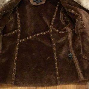 Montanaco Jackets & Coats - Faux leather, faux fur jacket